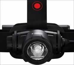 Stirn-Lampe H7R core. Neue Version.