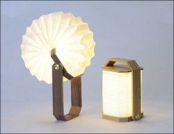 Hand-Lampe LED.