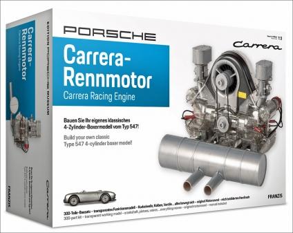 Porsche Carrera-Rennmotor.