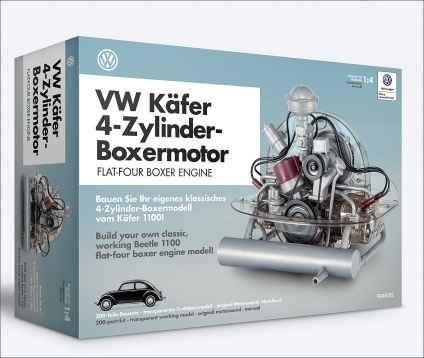 VW Käfer 4-Zylinder-Boxermotor.