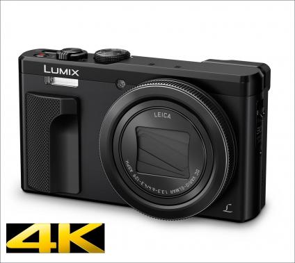 LUMIX TZ81. Kompaktkamera mit LEICA-Objektiv.